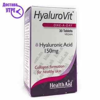 Health Aid HyaluroVit Хијалуронска Киселина таблети, 30