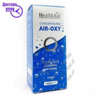 Health Aid Air Oxy Стабилизран Аеробен Кислород течност, 100мл