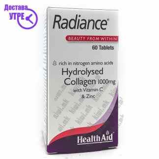 Health Aid Radiance Хидролизиран Колаген со Витамин Ц и Цинк таблети, 60