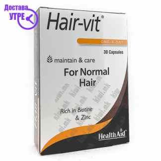 Health Aid Hair Vit капсули,  30