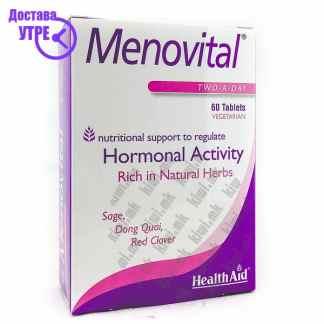 Health Aid Menovital таблети, 60