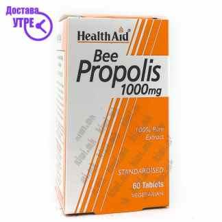 Health Aid Bee Propolis Прополис таблети, 60