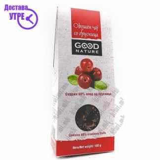 Good Nature Овошен Чај со Брусница 60 %Плодови, 100г