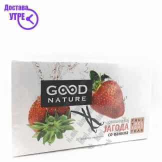 Good Nature Овошен Чај од Јагода и Ванила, 20