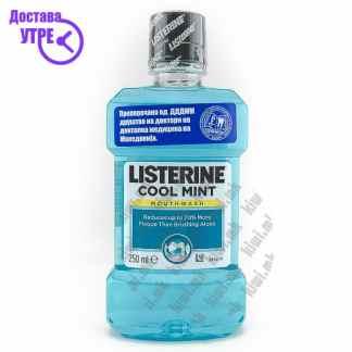 Listerine Cool Mint Течност за Плакнење на Уста, 250мл