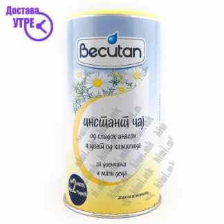 Becutan Инстант Чај од Сладок Анасон и Цвет од Камилица за Доенчиња и Мали Деца, 200г