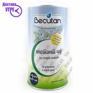 Becutan Инстант Чај од Сладок Анасон за Доенчиња и Мали Деца, 200г