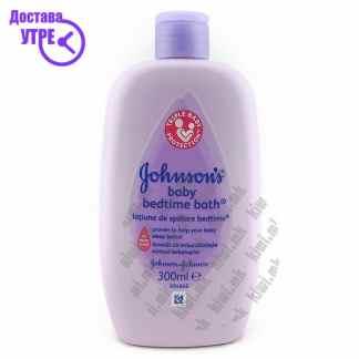 Johnson & Johnson Johnson's Baby Bedtime Bath Купка за Бебе, 300мл