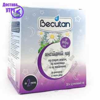 Becutan Инстант Чај од Сладок Анасон, Камилица и Маточина, 20