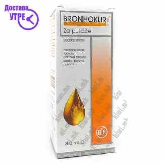 Bronhoklir Сируп за Пушачи, 200мл