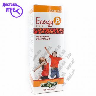 Erba Vita Energy B Fluid Junior Line 6-12 години сируп, 150мл