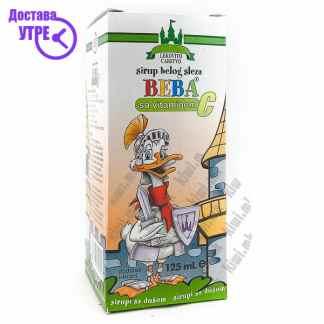 Beba Бел Слез + Витамин Ц сируп, 125мл