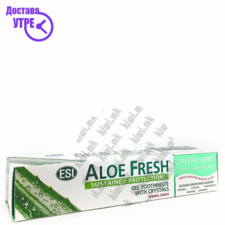 ESI Aloe Fresh Crystal Mint Паста за Заби, 100мл
