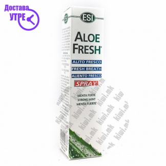 ESI Aloe Fresh Mouth Spray Спреј за Свеж Здив, 20мл