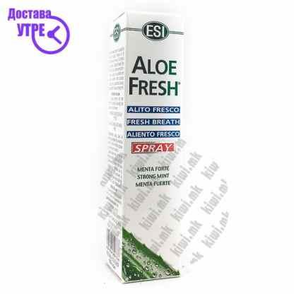 ESI Aloe Fresh Mouth Spray Спреј за Свеж Здив, 20мл