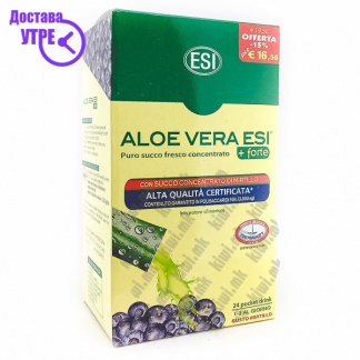 ESI Aloe Vera Forte Со Вкус на Боровинка кесички, 24