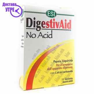 ESI DigestivAid No Acid таблети, 12