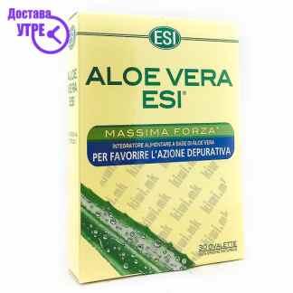 ESI Aloe Vera Maximum Strength таблети, 30