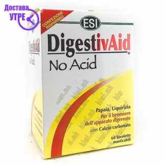 ESI DigestivAid No Acid таблети, 60