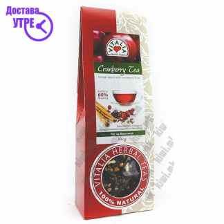 Vitalia Cranberry Tea 60% Чај од Брусница, 100г