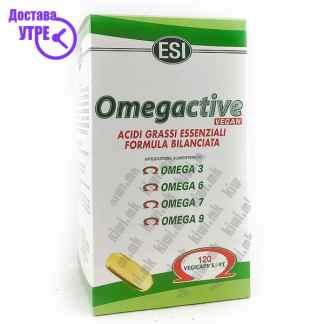 ESI Omegactive Омега 3-6-7-9 капсули, 120
