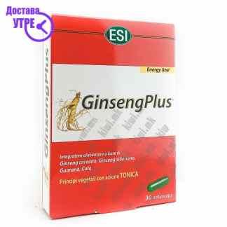 ESI GinsengPlus Женшен капсули, 30