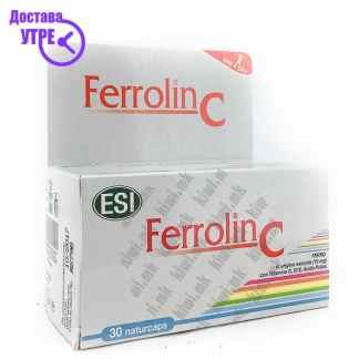 ESI Ferrolin C капсули, 30