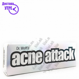 Dr.Wolff's Acne Attack крема, 40г