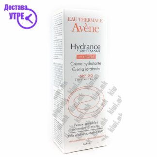 Avene Hydrance Optimal UV Light SPF 20 Крема за Лице со СПФ 20, 40мл