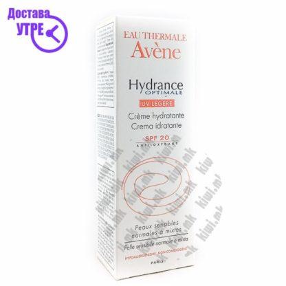 Avene Hydrance Optimal UV Light SPF 20 Крема за Лице со СПФ 20, 40мл