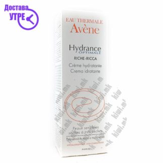 Avene Hydrance Optimal Rich Крема за Сува Кожа, 40мл