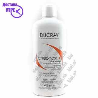 Ducray Anaphase Stimulating Cream Shampoo Шампон против Опаѓање на Коса, 400мл