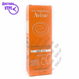 Avene Sun Cream SPF 50+ Крема за Лице со СПФ 50+, 50мл