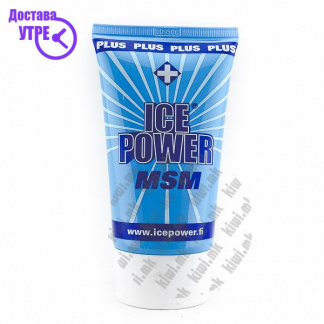Ice Power Plus MSM Гел против Болка во Мускули и Зглобови, 100мл