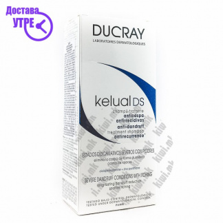 Ducray Kelual DS Squamo-Reducing Anti-Recurrence Shampoo Шампон против Првут, 100мл