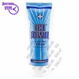 Ice Power Cold Gel Гел против Болка во Мускули и Зглобови, 75мл