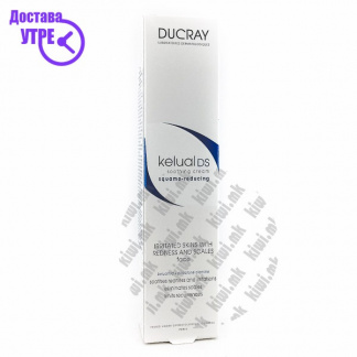 Ducray Kelual DS Squamo-Reducing Anti-Recurrence Soothing Cream Крема против Првут, 40мл