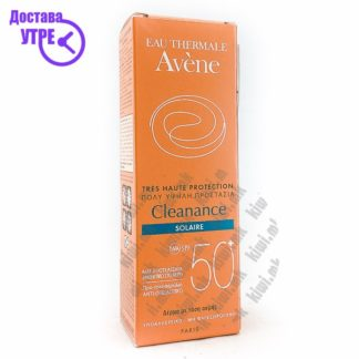 Avene Cleanance Solaire SPF 50+ Крема со СПФ 50+ за Масна Кожа, 50мл