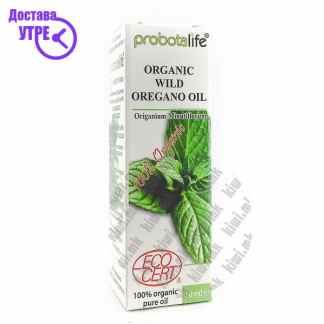 Probotalife Organic Wild Oregano Oil Органско Масло од Диво Оригано, 10мл