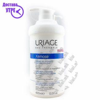 Uriage Xemose Lipid Replenishing Anti-Irritation Cream Крема за Лице и Тело за Сува Кожа, 400мл