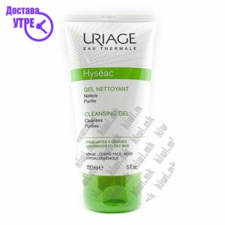 Uriage Hyseac Cleansing Cream Гел за Миење на Лице склоно кон Акни, 150мл
