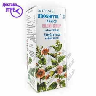 Bronhitol Витамински Сируп со Витамин Ц, 150г
