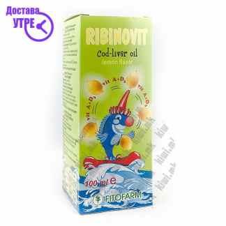 Фитофарм Рибиновит - Рибино Масло со Арома на Лимун, 100мл