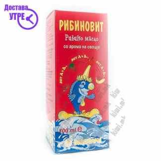 Рибиновит - Рибино Масло со Арома на Шумско Овошје, 100мл