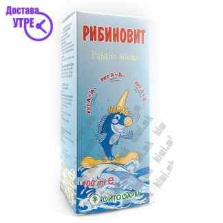 Рибиновит Рибино Масло без Арома, 100мл