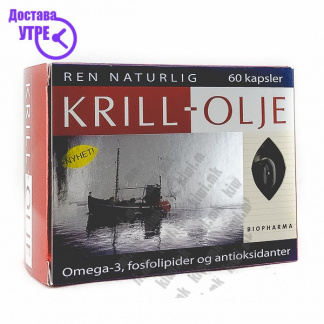 Krill Oil капсули, 60