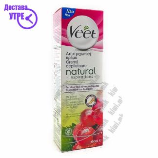 Veet Natural Крема за Депилација, 100мл