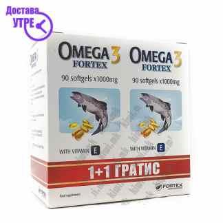 Омега-3 + Витамин Е капсули, 180