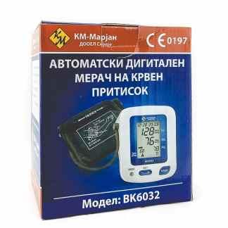 Bokang Автоматски Дигитален Апарат за Мерење на Притисок