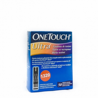 One Touch Ultra Ленти за Мерење на Шеќер, 50